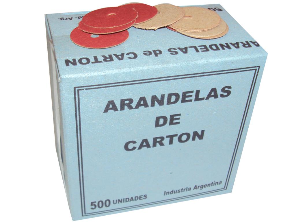 ARANDELAS de carton
